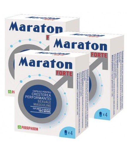 Maraton Forte 4 cps x 3 cutii